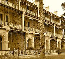 Victorian villas @ Henley Beach, Adelaide by Ali Brown