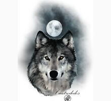 Wolf Fondo blanco Unisex T-Shirt