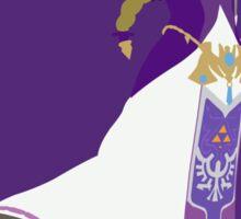 Zelda (Ocarina) - Super Smash Bros. Sticker