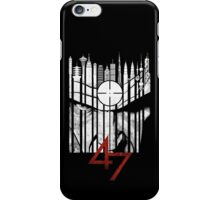 Hitman Codename 47 iPhone Case/Skin