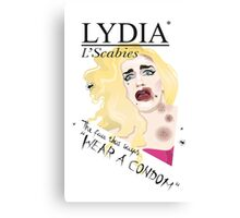 LYDIA* ILLUSTRATION Canvas Print