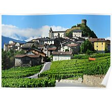 Swiss village Poster
