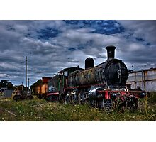 Train HDR Photographic Print