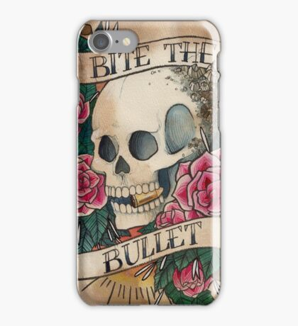 Bite The Bullet iPhone Case/Skin