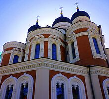 Tallin:Church by Phillip Wayne