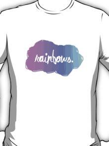 Simple and random Rainbow design. T-Shirt