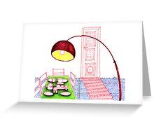 Sketch 12 ... dinner Greeting Card