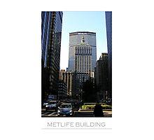 MetLife Building Photographic Print