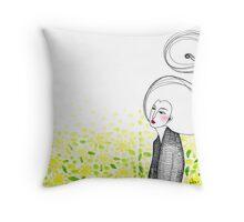 Sketch 10 ... spring Throw Pillow