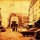 Paris - Monmartre 1968 by pennyswork