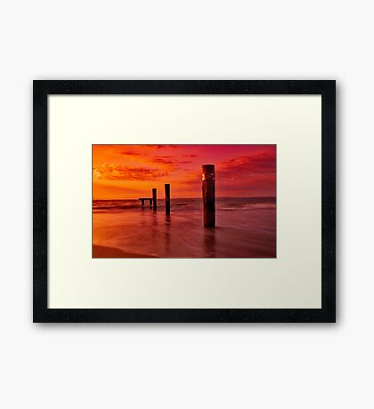 """Pi plus Three"" Framed Print"