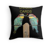 American Birds Throw Pillow