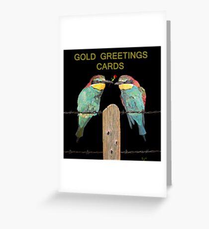 World Birds Greeting Card