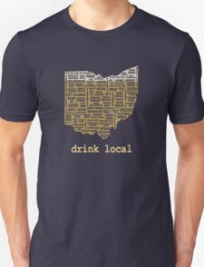 Drink Local - Ohio Beer Shirt T-Shirt