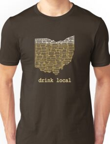 Drink Local - Ohio Beer Shirt Unisex T-Shirt
