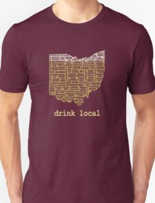 Drink Local - Ohio Beer Shirt T-Shirt