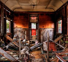 Train Carriage in HDR  by Daniel Sallai
