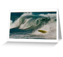 Wipe Out Greeting Card