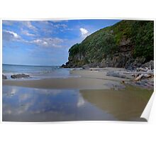 Coastal - Waihi Beach, Bowentown, New Zealand - A Touch of Paradise Poster