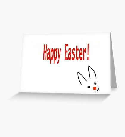 Happy Easter card for Kids Greeting Card