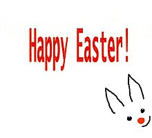 Happy Easter card for Kids Photographic Print