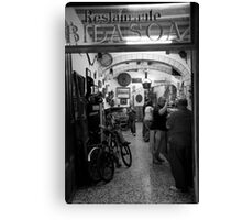 peoplescapes #278, restaurante bidasoa Canvas Print