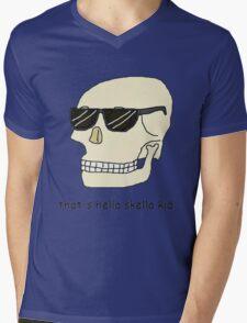 That's hella skella kid Mens V-Neck T-Shirt