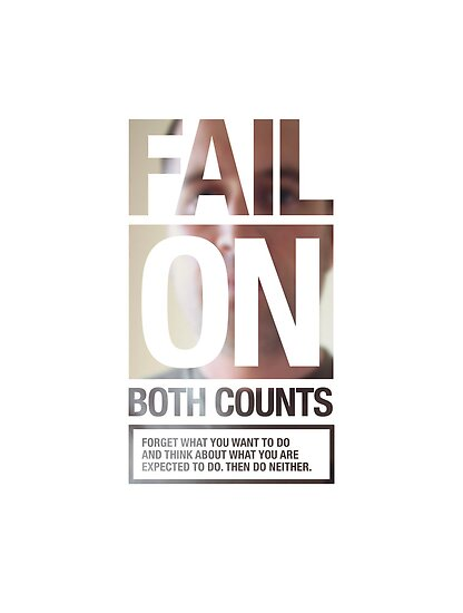 FAIL ON BOTH COUNTS by Steve Leadbeater