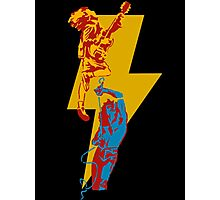 AC DC thunderbolt Photographic Print
