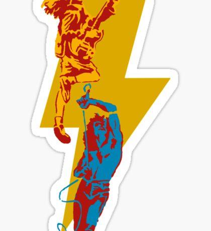 AC DC thunderbolt Sticker