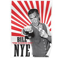 """Bill """"The Science Guy"""" Nye Poster"""