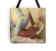Grunge sunday Tote Bag