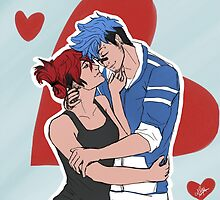 (Human) Mordecai and Margaret by Katze