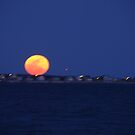 Supermoon rising by Poete100