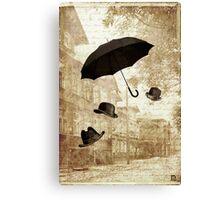 magritte meets pushkin Canvas Print