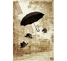 magritte meets pushkin Photographic Print