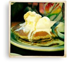 Buckwheat Pancakes Canvas Print