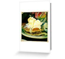 Buckwheat Pancakes Greeting Card