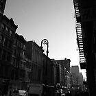 NEW YORK BROWNSTONES by benj dawe