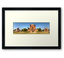 Khusrubagh Panoramic Framed Print