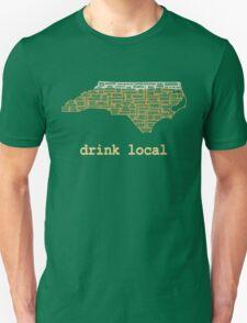 Drink Local - North Carolina Beer Shirt Unisex T-Shirt