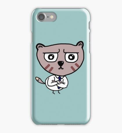 Business Raccoon  iPhone Case/Skin