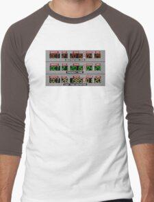 Back to the Future 2 Time Circuits 2015 Men's Baseball ¾ T-Shirt