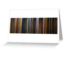 Moviebarcode: Apocalypse Now (1979) Greeting Card