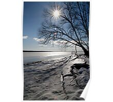Spring Ice - Ottawa River Poster