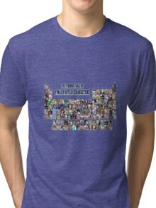 The periodic table of Final Fantasy Characters Tri-blend T-Shirt