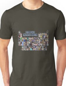 The periodic table of Final Fantasy Characters Unisex T-Shirt