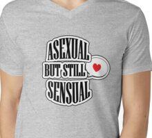 Asexual but still sensual- Clothes Mens V-Neck T-Shirt