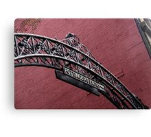Pottinger's Entry Canvas Print