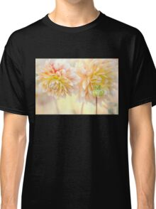 Gentle Dahlias  Classic T-Shirt